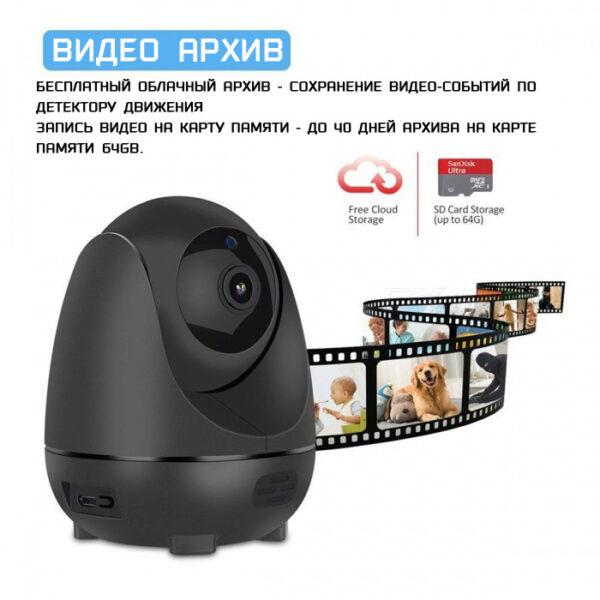 Беспроводная IP камера для офиса