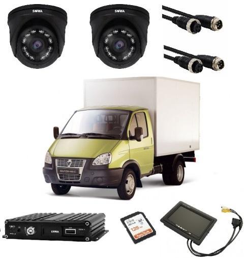 Видеонаблюдение для грузового авто купить в Чите