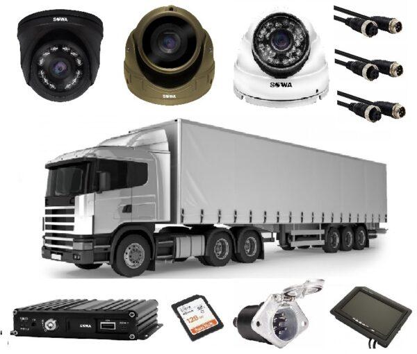 Купить в Чите комплект видеонаблюдения для грузовика