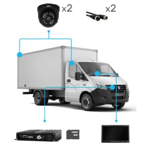 Комплект видеонаблюдения для грузовика купить в Чите