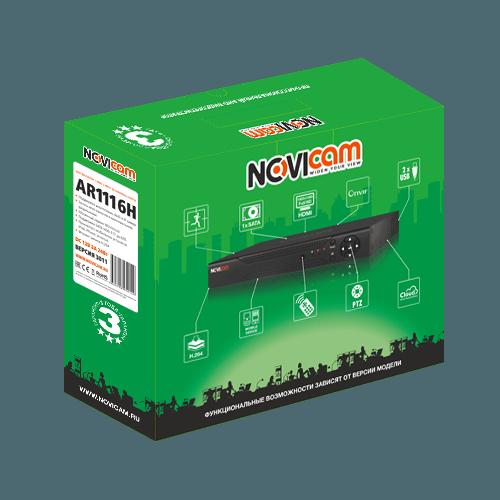 Гибридный регистратор NOVIcam AR1116H (ver.3011)