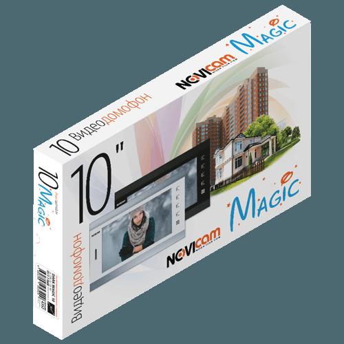 Аналоговый видеодомофон NOVIcam DARK MAGIC 10 (ver.4581)