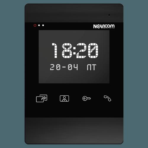 Аналоговый видеодомофон NOVIcam DARK MAGIC 4 (ver.4577)