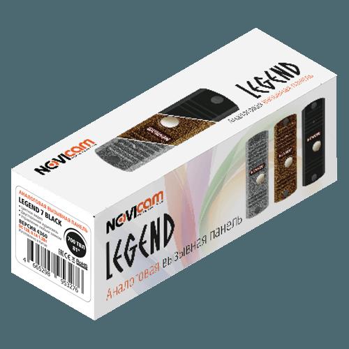 Вызывная панель NOVIcam LEGEND BLACK (ver.4354)