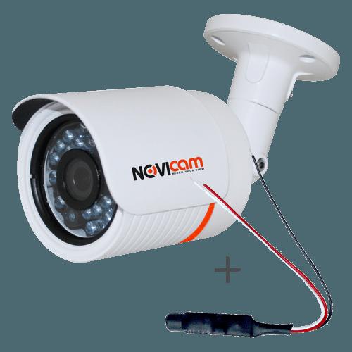 IP видеокамера NOVIcam N43W + Микрофон AM16 (ver.1122)