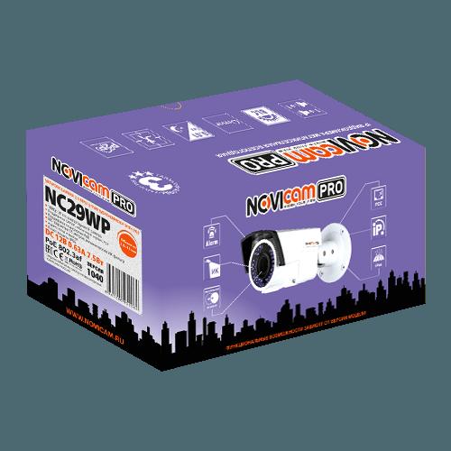 IP видеокамера NOVIcam PRO NC29WP (ver.1040)