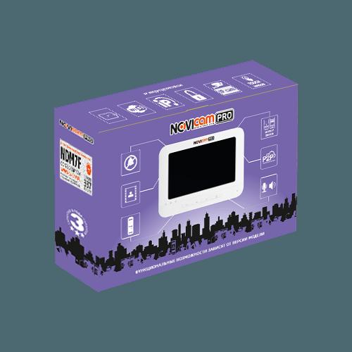 IP видеодомофон NOVIcam PRO NDM7F (ver. 337)