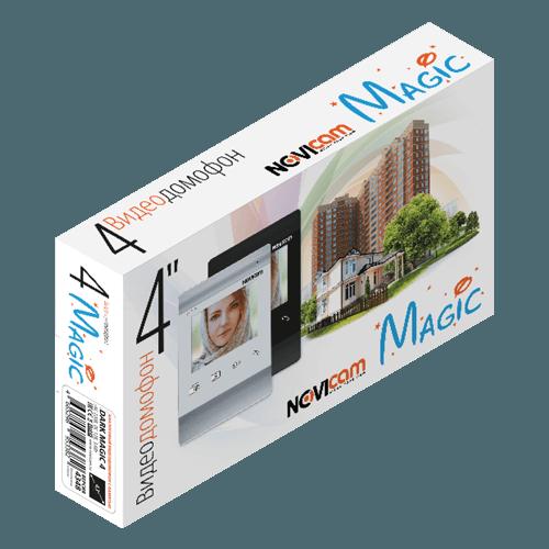 Аналоговый видеодомофон NOVIcam  WHITE MAGIC 4 (ver.4347)