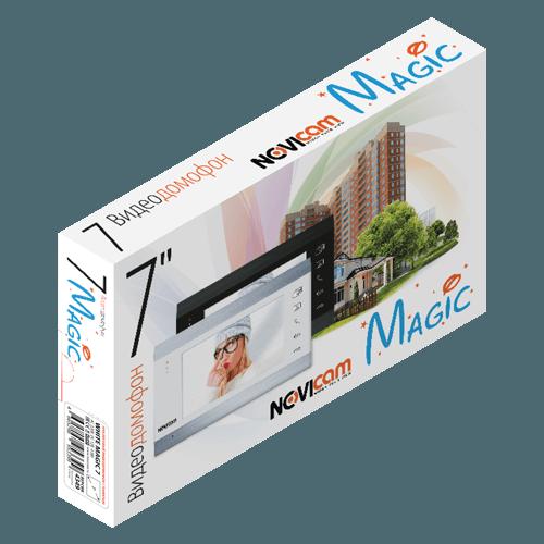 Аналоговый видеодомофон NOVIcam WHITE MAGIC 7 (ver.4578)
